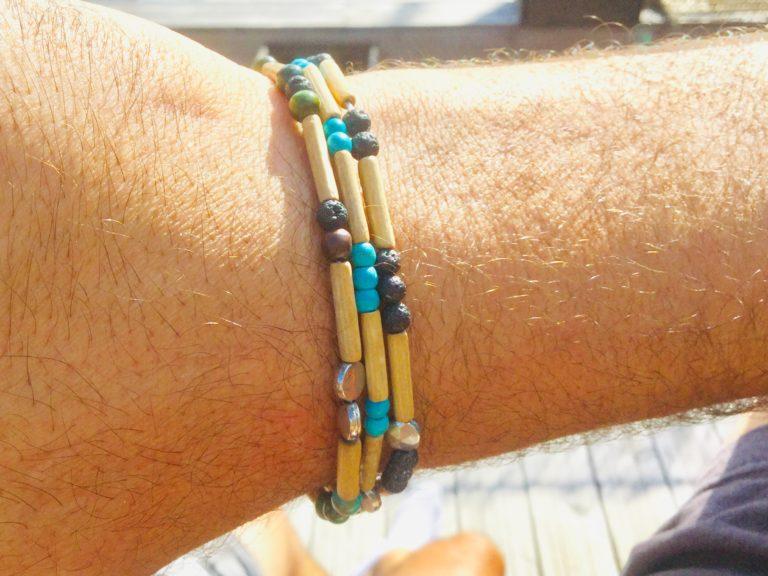 bracelets ethniques homme