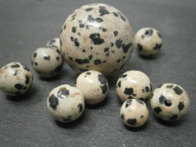 Bijoux en Jaspe dalmatien