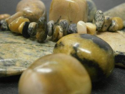 Bijoux en serpentine