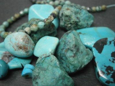 bijoux en Turquoise